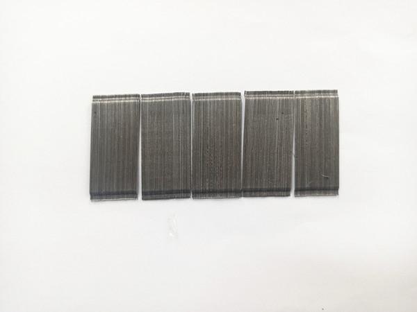 成排钢纤维